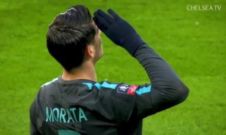 VIDEO, Morata segna e esulta nel ricordo di Astori, il bel gesto del giocatore del Chelsea