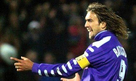 """Batistuta: """"Vincere a Firenze un sogno. Mi porterei la maglia di Wembley su un'isola deserta"""""""