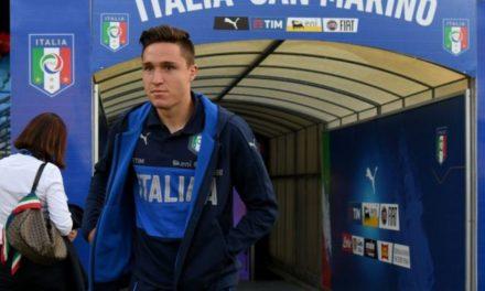 Federico Chiesa ha scelto la maglia numero 25 anche in Nazionale