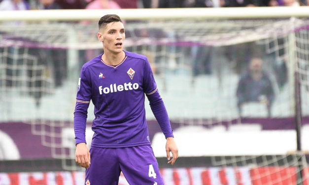Pioli cambia Milenkovic, sarà il terzino della Fiorentina in un ruolo alla Ivanovic