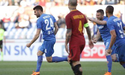"""Benassi su Instagram: """"Ennesima grande prova, portare via tre punti a Roma sempre un'impresa!"""""""