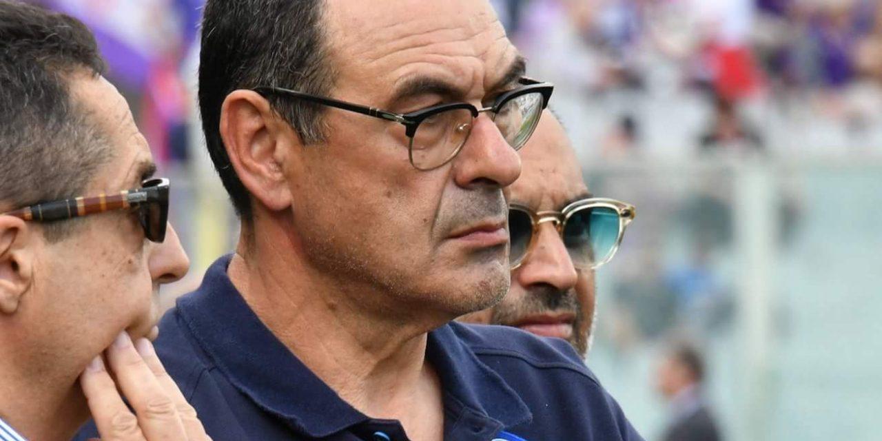 """Sarri: """"La Fiorentina ha fatto una grande gara. Noi ci siamo persi dopo il rosso"""""""