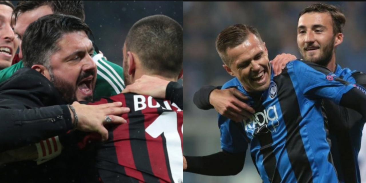 Napoli tifa Atalanta e Milan. Se vincono l'Europa League sarebbe a meno 7 per la Fiorentina