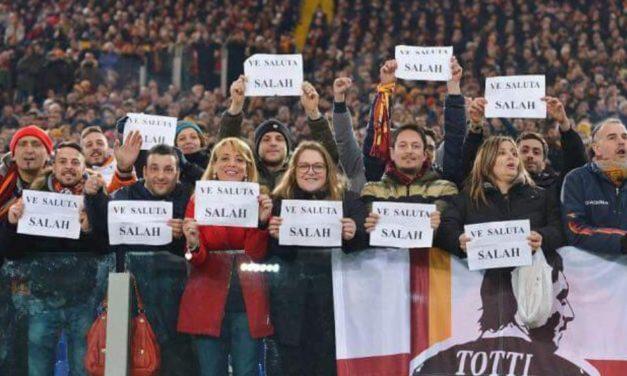 Liverpool-Roma 5-2. Due gol e due assist per Salah. Fiorentini si vendicano con i romanisti sui social