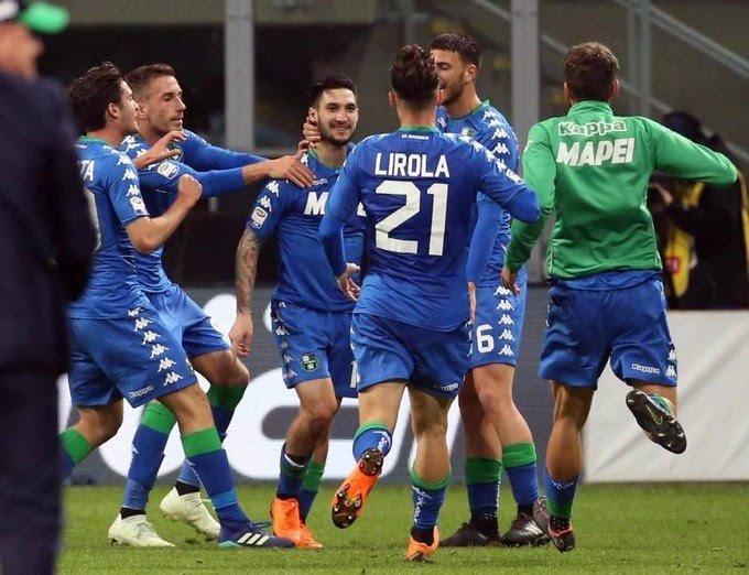 Kalinic salva il Milan, pareggio contro il Sassuolo. Fiorentina a meno due