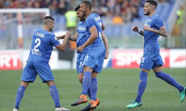 Fiorentina davanti anche a Roma: 0-2 con Benassi e Cholito al 45′. Pioli vola, brividi Sportiello…