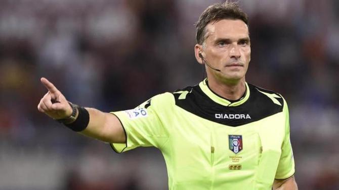 L'arbitro di Fiorentina-Juventus è Irrati della sezione di Pistoia. Al V.A.R. Mazzoleni