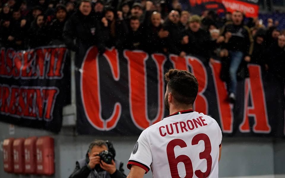"""Cutrone esulta: """"Questa era una partita da vincere!! Noi bravi a reagire subito"""""""