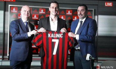 """Quando Kalinic disse: """"Vado il Milan per vincere."""" I tifosi però lo contestano dopo l'ennesimo disastro"""