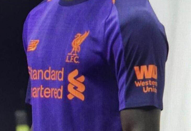 Seconda Maglia Liverpool ufficiale