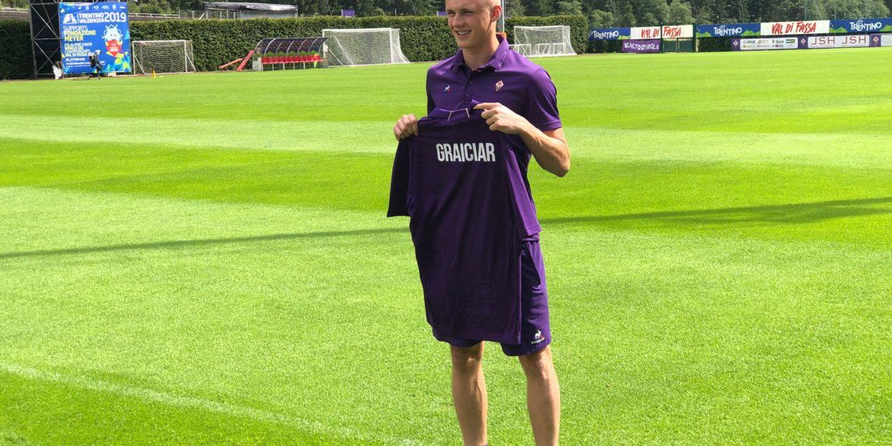 """Graiciar: """"Voglio stare con la prima squadra, Pioli un grande allenatore. Vogliamo giocare l'Europa League"""""""