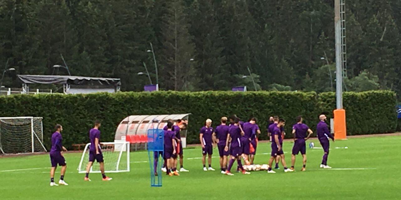 Live da Moena: segui l'allenamento pomeridiano della Fiorentina