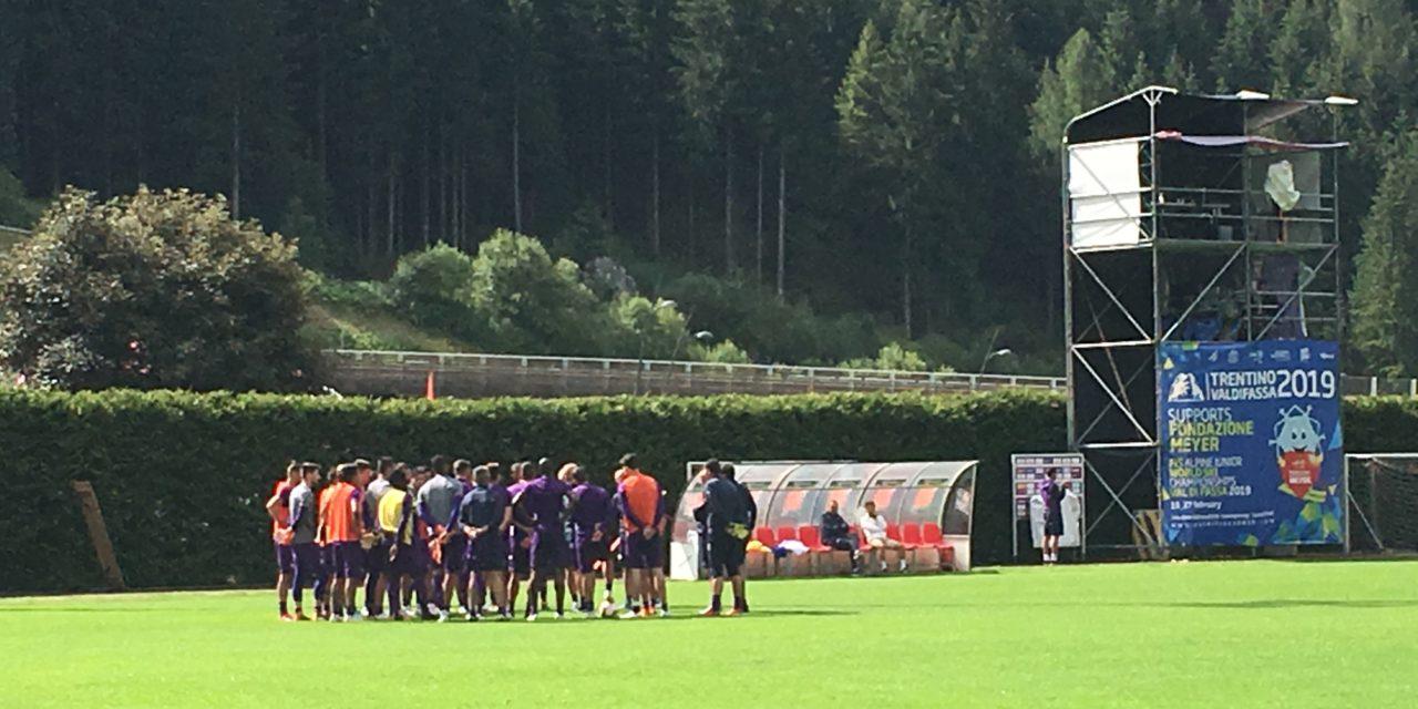 Live da Moena: segui l'allenamento mattutino della Fiorentina, si inizia con una partitella a tema