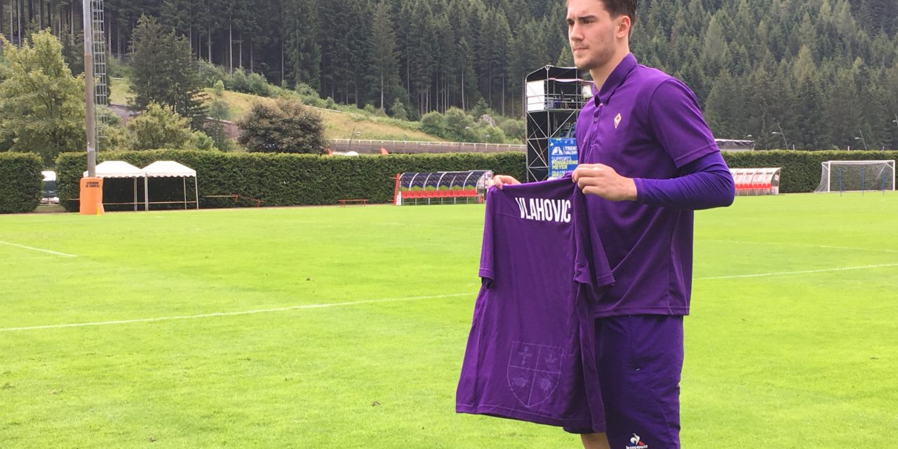 """Ecco Vlahovic: """"Voglio dare il massimo, Jovetic mi ha parlato bene di Firenze"""""""