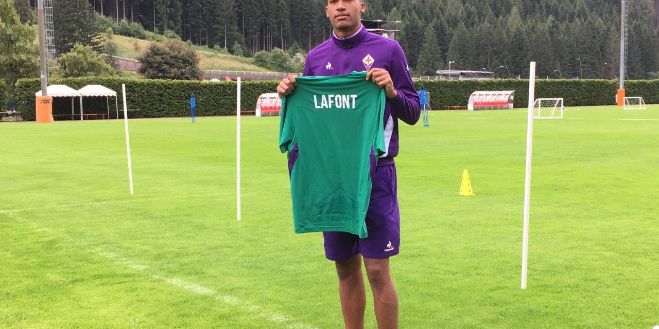 """Lafont si presenta: """"Ho scelto la Fiorentina perché è un grande club, voglio seguire le orme di Frey"""""""