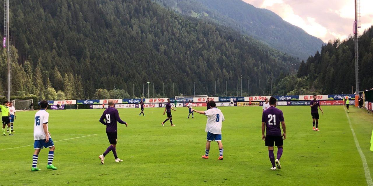 La Fiorentina vince 10-0 contro il Val di Fassa. Poker per Simeone, bene il giovane Montiel