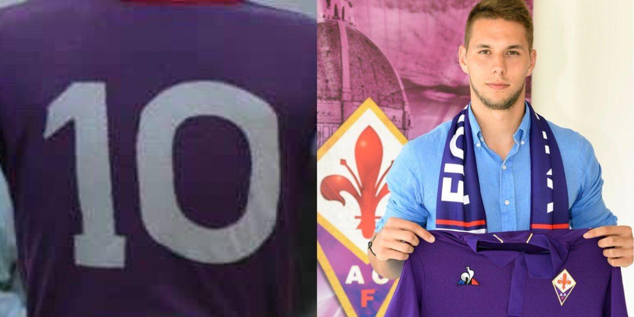 Seconda Maglia Fiorentina MARKO PJACA