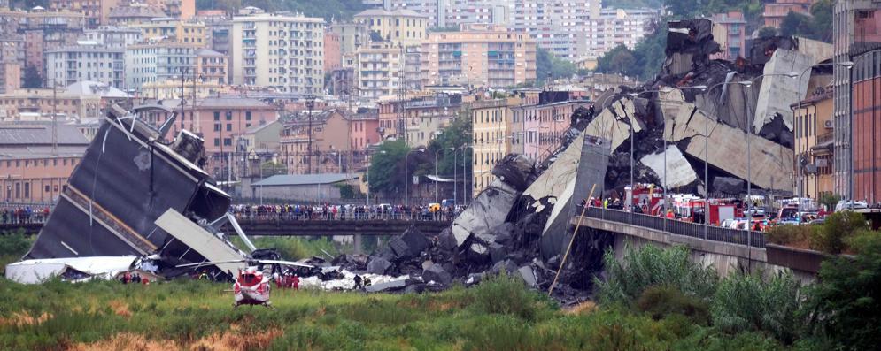 """Tragedia a Genova, Simeone: """"Vicino alla loro sofferenza"""". Pezzella e Benassi: """"Forza!"""""""