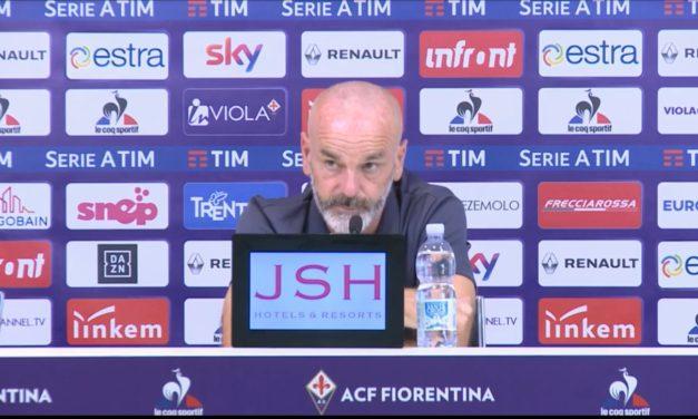 """Pioli: """"Siamo a meno due dall'Europa. In allenamento tanti gol. Chiesa in dubbio"""""""