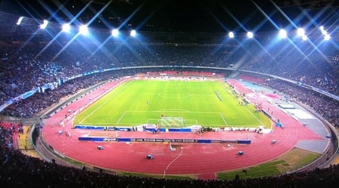 Mai cosi vuoto, domani il San Paolo di Napoli avrà solo 15 mila spettatori. Il motivo…