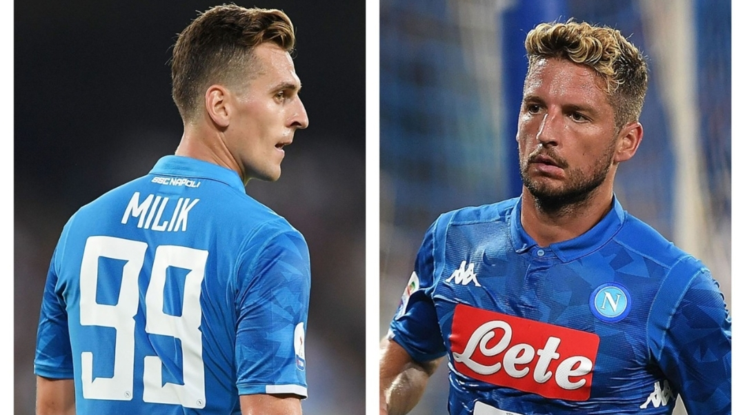 "Sky Sport, da Napoli: ""Milik o Mertens? Azzurri cotti e stanchi dopo le nazionali. Ecco chi giocherà"""