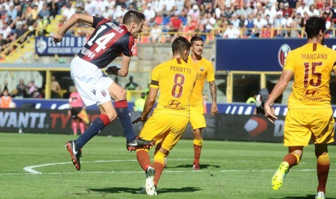 Il Bologna batte la Roma, Lazio a valanga, Torino umiliato dal Napoli