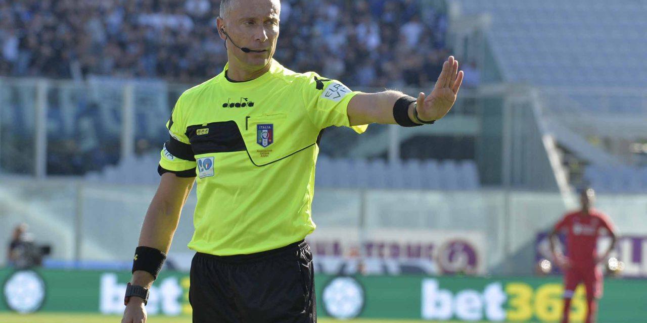 Valeri bloccato per un turno dopo il rigore su Chiesa, sarà Orsato ad arbitrare Lazio-Fiorentina