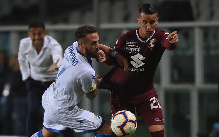 Il Torino batte di misura il Frosinone per 3-2. Decisivo il goal di Berenguer