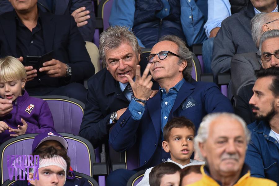 Andrea Della Valle a Firenze, ci sarà contro l'Inter e contro l'Atalanta mercoledì sera