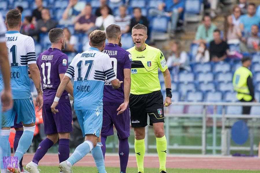 Fiorentina-Lazio, l'arbitro del match sarà Orsato di Schio e al Var…