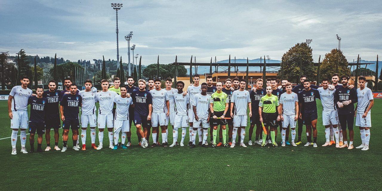 (FOTO): a Coverciano amichevole tra la Nazionale e la Fiorentina Primavera