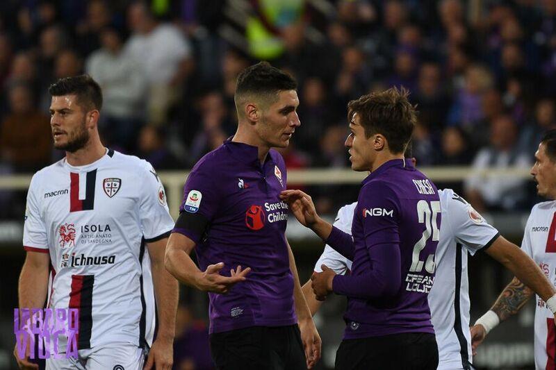 Chiesa non sfonda il muro Cragno. A Veretout risponde Pavoletti, la Fiorentina si ferma, è 1-1