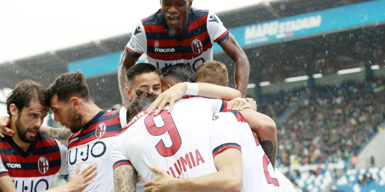 Il Bologna blocca il Sassuolo, la squadra di De Zerbi fallisce il sorpasso alla Fiorentina