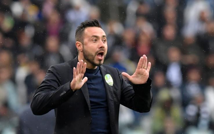 """De Zerbi: """"Chiesa cascatore? Mi sembra una brava persona. È patrimonio del calcio italiano"""""""