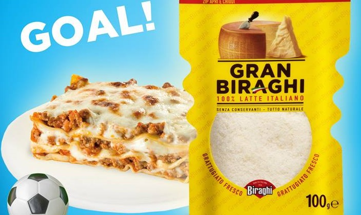 Assist di Lasagna e gol di Biraghi. La marca di formaggi si inventa una pubblicità divertentissima