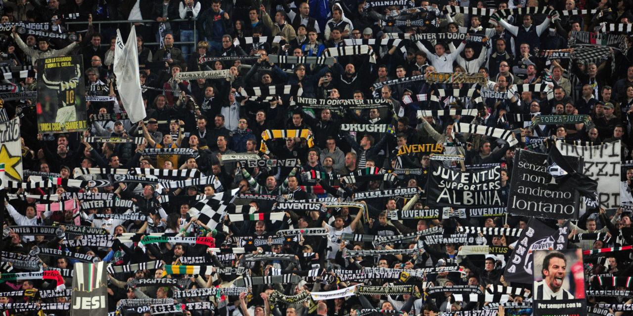 Tifoso Juve inibito 5 anni dall'Allianz Stadium. Aveva mimato aereo  Superga durante il derby..