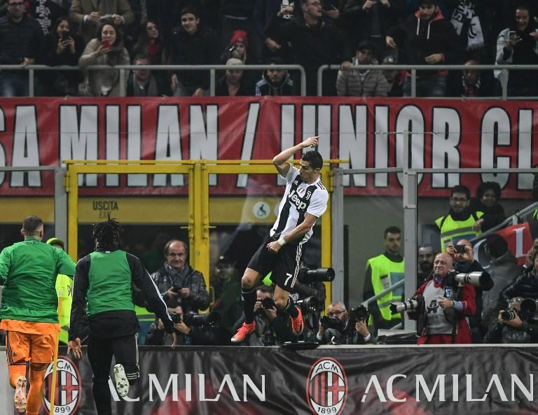 Il settore ospiti della Juventus a San Siro è vuoto, ma Ronaldo segna e c'è il boato allo stadio