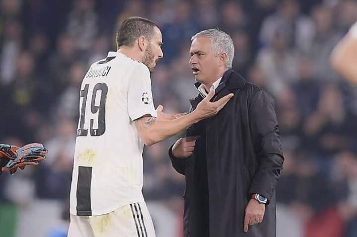 Bonucci e una lezione ridicola a Mourinho. Ecco perche non se la poteva permettere