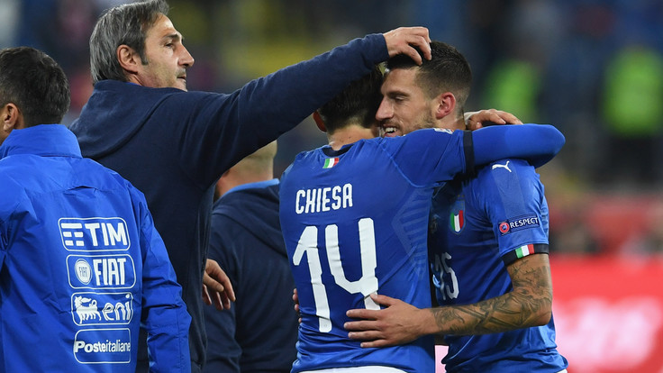 Convocati Italia, Chiesa e Biraghi ok. Il tecnico Mancini chiama 33 calciatori. La lista
