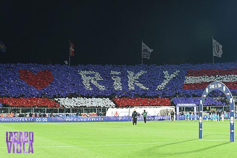 Nella gara Fiorentina-Juventus verrà fatta una coreografia di tutto lo stadio Artemio Franchi