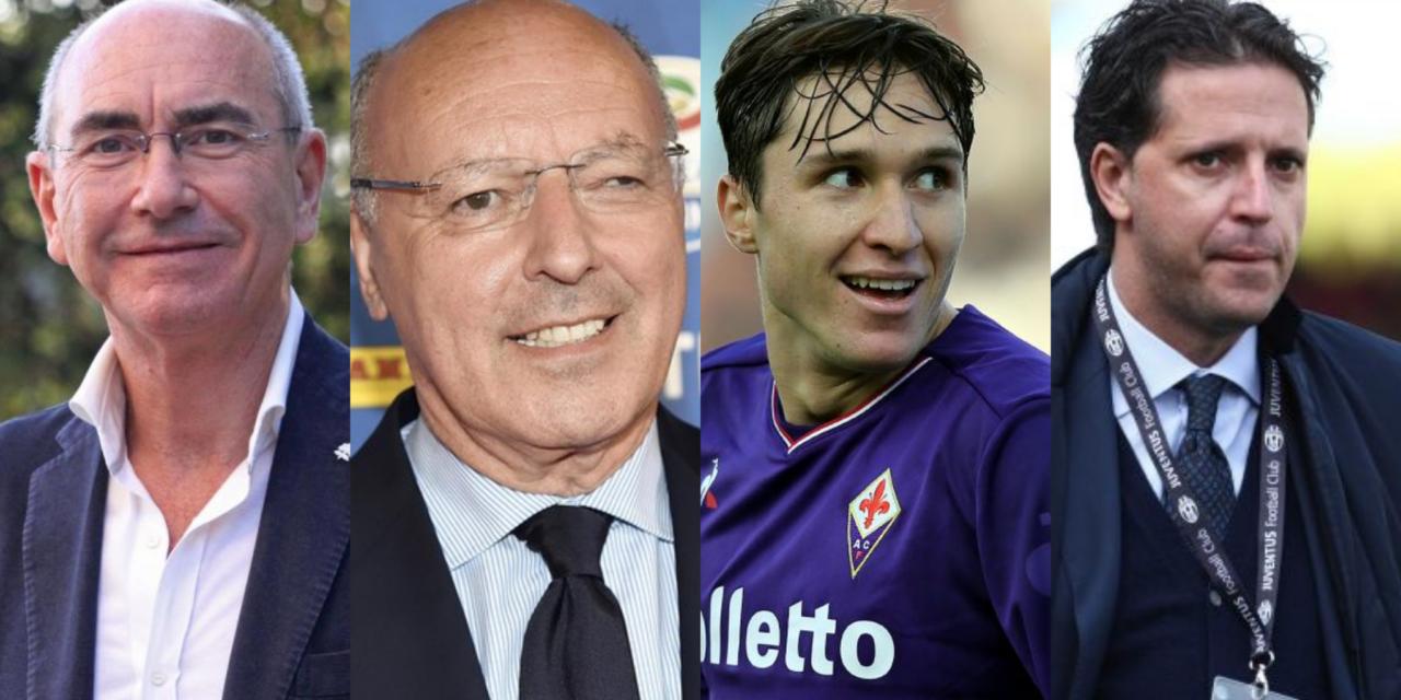 """Bucchioni: """"Chiesa vuole l'Inter, alla Fiorentina 70 milioni. La Juventus offre Pjaca e Kean"""""""