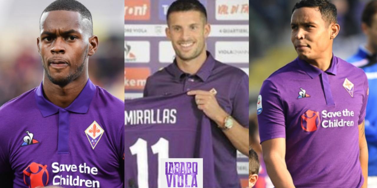 CdS, la Fiorentina riscatterà Muriel e Edimilson per 22 milioni. Su Mirallas la Fiorentina….