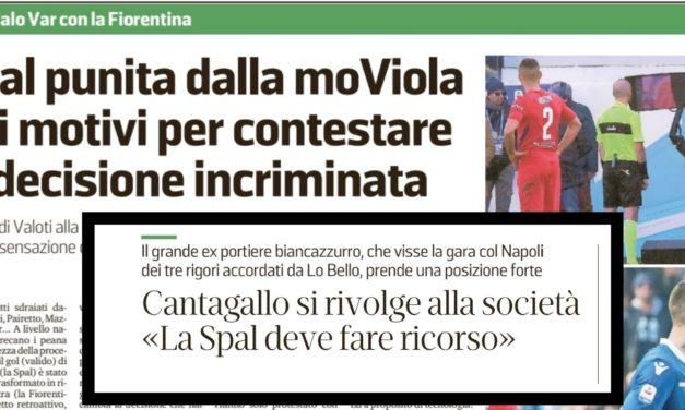 """Articolo vergognoso da Ferrara: """"Rigore non c'è. Il Var ammazza il calcio. Partita da ripetere"""""""