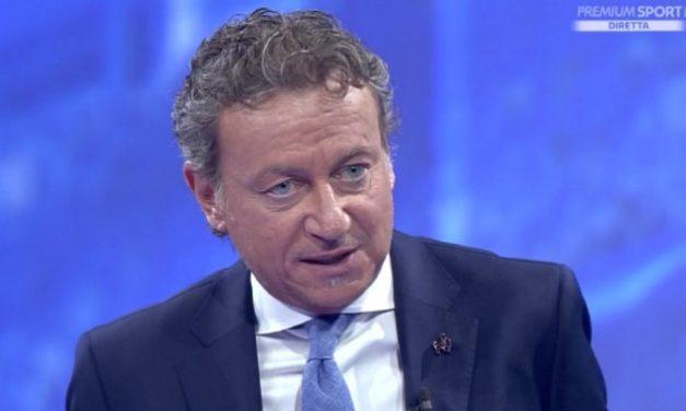 """Sabatini: """"Contatto Romagnoli-Cutrone? Il difensore del Milan sfiora il pallone e arriva in anticipo, per me non era rigore"""""""