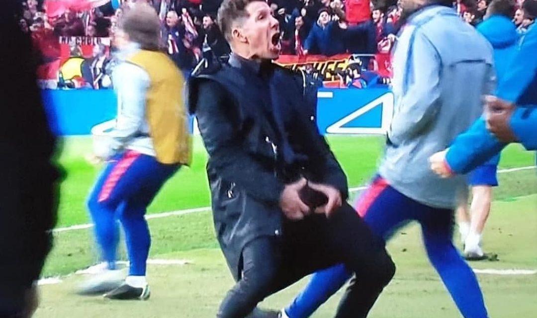 Media spagnoli: Simeone sarà multato dall'UEFA per l'esultanza con la Juve. Il dettaglio della sanzione