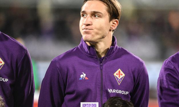 Brutta notizia per la Fiorentina, Chiesa si fa male con la nazionale. Problemi agli adduttori