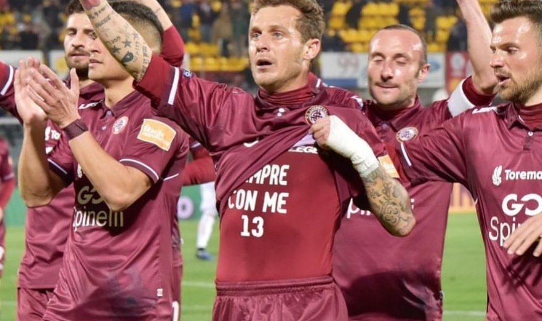 Livorno-Benevento 2-0, Diamanti segna e dedica il goal ad Astori…