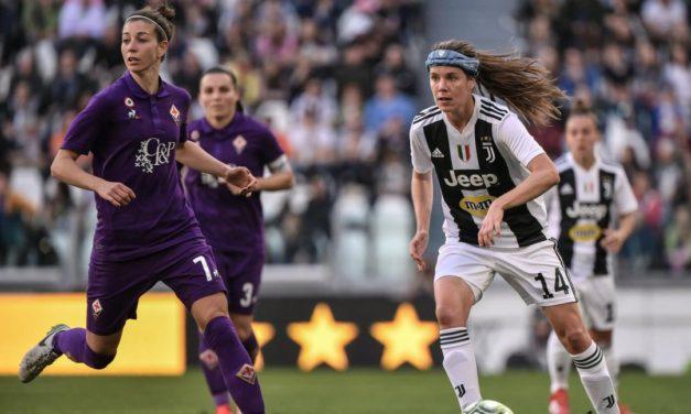 Juventus women's batte Fiorentina Women's 1-0. Il sogno scudetto svanisce
