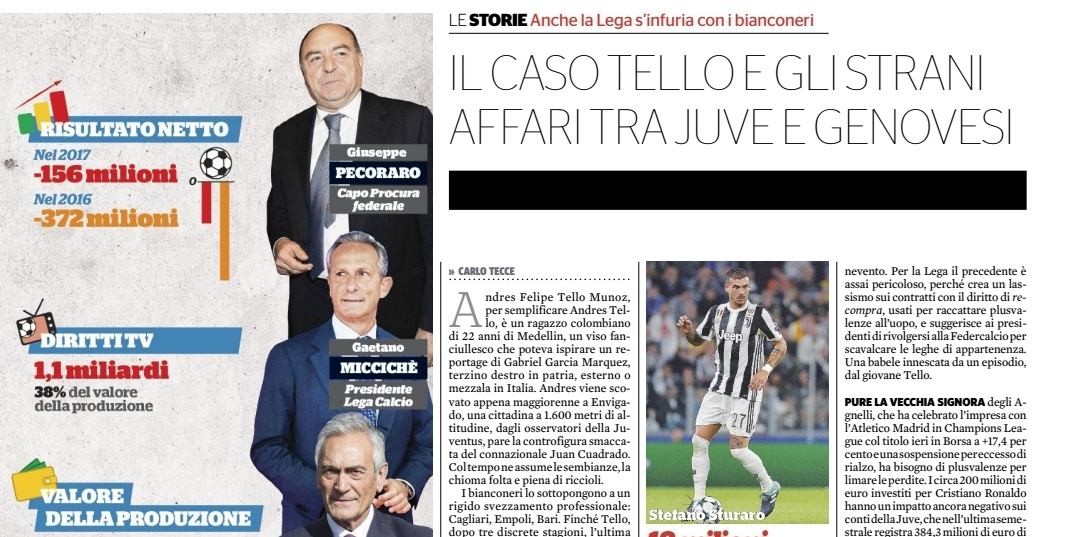 Serie A, Il Fatto Quotidiano: