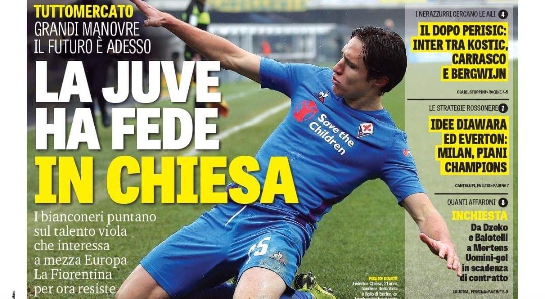 Per la Juventus Chiesa è speciale. Ma la Fiorentina fa muro e chiede tanti soldi. La sua risposta…